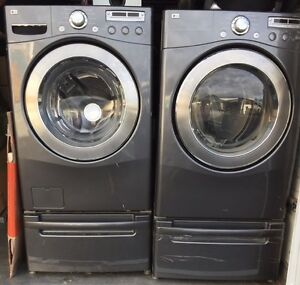 XL Capacity front load  Washer & dryer 7.3 Cubic ft