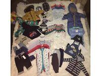 Baby boy's clothes bundle. 3-6 months