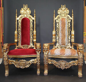 Wedding Chair Rental King Queen Throne Bride Groom