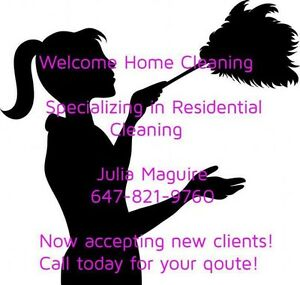 Welcome Home Cleaning Kawartha Lakes Peterborough Area image 1