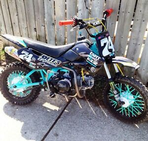 Kawi klx 110 must see! Cash or trade !!