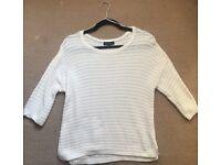 New look cream knit jumper 12