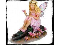 Secret Dell Fairy Figurine Ornament - 16cm Brand New in Packaging