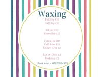 Waxing from £5