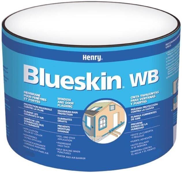 "Henry HE201WB954 Blueskin Flash Membrane, 9"" x 75"