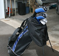 Jazz Peyto Junior Golf Clubs and Stand Bag, Left-handed.