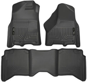 Husky Weatherbeater 2009-2018 Dodge Ram Crew Cab Front and Rear