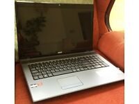"Acer Aspire Laptop. 17.3"" Screen. Unused."