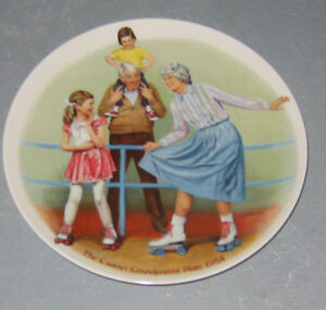 The Skating Queen Collector Plate by Joseph Csatari Cambridge Kitchener Area image 1