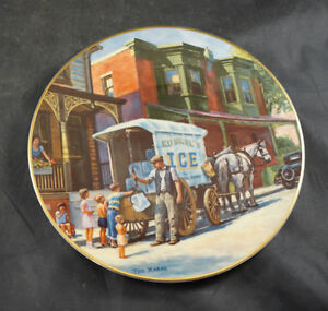"TED XARAS COLLECTORS PLATE ""ICE"""
