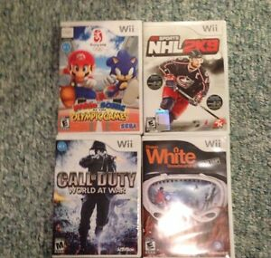 Nintendo Wii games for sale London Ontario image 1