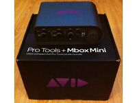M-Box Mini audio interface Unused! + Pro Tools 9 (Free upgrade to Pro Tools 10) + ilok