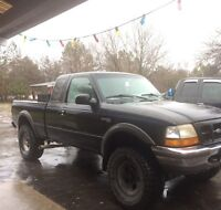 Lifted Ford ranger, low Kms !