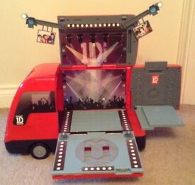 One Direction Toy Tour Bus