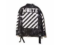 Off white jacket spring