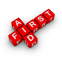 First Aid Course this week May 30 & 31!