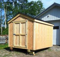 8x10' storage shed