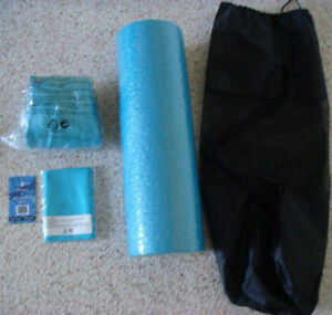 Brand New Stretching Set with Carry Case