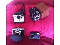 Kodak & Polaroid cameras