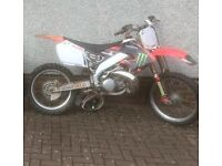 Cr 250 needs work