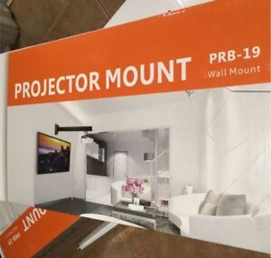 Projector wall mount, for short throw projectors, 4 available