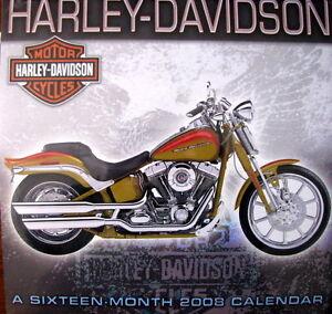 """ Harley-Davidson -105th Anniversary - Calender-Never opened """