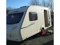 Sprite Alpine 2 lightweight caravan
