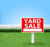 Yard sale ! EVERYTHING MUST GO