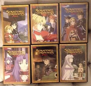 Scrapped Princess - complete anime tv series dvd