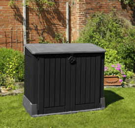 New Keter Store It Out Midi Outdoor Plastic Garden Storage Shed