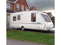Sterling Eccles Amethyst 5 Berth Touring Caravan 2002