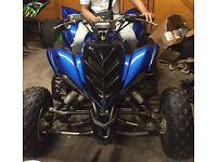 Yamaha Raptor 700R road legal quad atv 11months Mot bargain