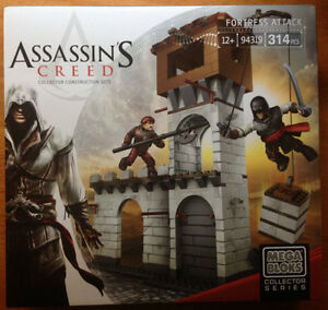 Mega Bloks Assassin's Creed Fortress Attack 94319 314PCS
