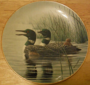 Bradford Exchange Don Li-Leger Loon Collector Plates