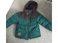 Boys winter coat for age 3 years.