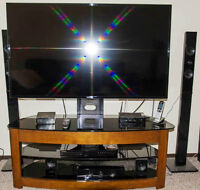 """Samsung 55"""" HD Smart TV with DVD/Blue Ray Sound System"""