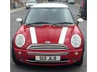 Immaculate Low Milage Mini Cooper For Sale
