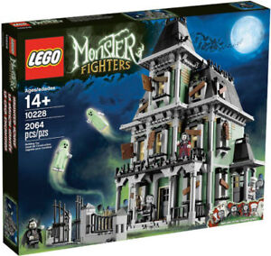 Brand New Sealed Lego - Monster Fighters Haunted House 10228