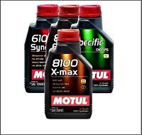 1 L 1ltr. Motul 8100 X-max Olio Motore 0w-40 Olio Motore,olio - motul - ebay.it