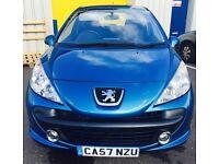 Peugeot 207 SPORT 1.4 16V Petrol 3 doors/ 2007