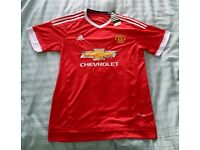 Manchester United Home Shirt 15/16