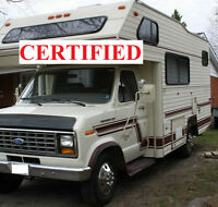 CERTIFIED - READY FOR THE ROAD 21 foot Class C motorhome