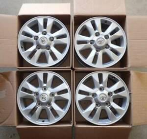 Alloy Rims 200 Series 2014 wheels 17 x 8 GXL x 4 WILL POST