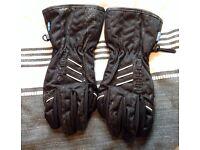 Ladies/junior motorbike gloves
