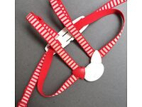 Stokke Tripp Trapp harness in red