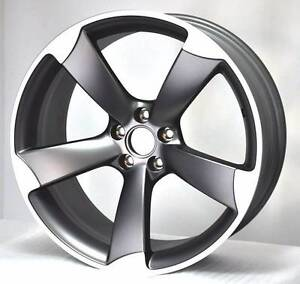 BRAND NEW AUDI ROTOR ARM 5 STYLE WHEELS TYRES PACKAGE Arncliffe Rockdale Area Preview