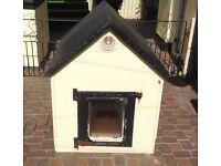 Joiner built dog kennel