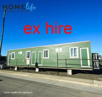 4 bed/4 bath 2013 transportable accommodation. Ex hire