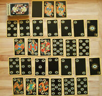 Colorful and exotic Russian Playing Cards. All deck present.