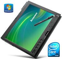 "Tablet 12"" Thinkpad X201 Core-i7 2.0GHz (Hybrid 500GB SSD) 6GB"